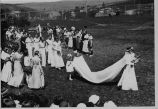Photographs of May Day Celebration and Queen Coronation, ca. 1934